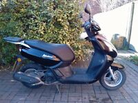 2015 Peugeot Kisbee 100 scooter, bargain, perfect runner, cheap insurance, low miles, not ps sh 125