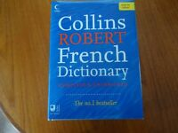 Collins ROBERT French Dictionary in colour - complete and unabridged - new