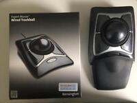 Kensington expert mouse USB wired trackball