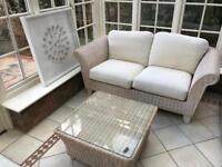 Rattan whicker conservatory/Garden furniture 5 piece