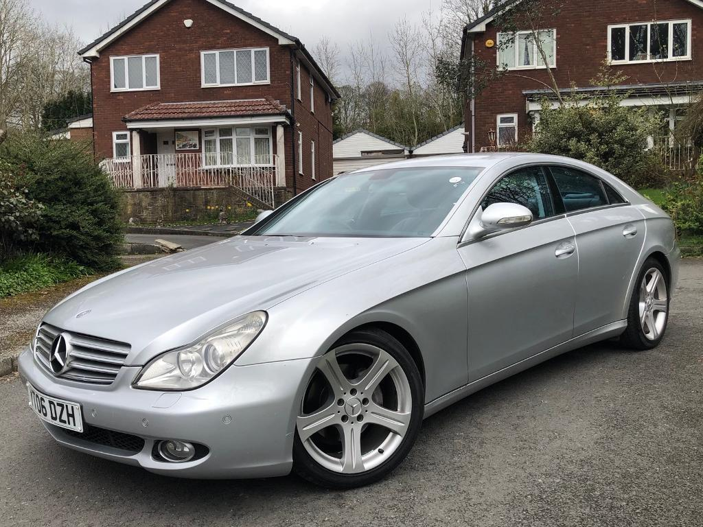 MERCEDES-BENZ CLS320 CDI SPORT AUTO LEATHER MOT ALLOYS IMMACULATE MUST SEE