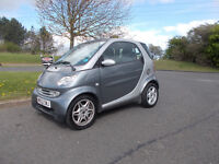 SMART CITY COUPE PASSION SOFTOUCH AUTOMATIC STUNNING GREY 2002 BARGAIN ONLY £950 *LOOK* PX/DELIVERY