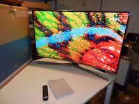 SAMSUNG UE49KU6670 SMART 4K ULTRA HD HDR CURVED LED 1600HZ FREESAT & FREEVIEW HD