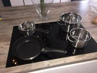 New NEFF induction compatible pots and pan