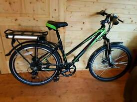 Electric bike as new only used once