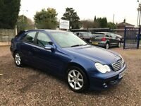 ** 2006 MERCEDES C220 CDI S AUTO ** REDUCED TO CLEAR BARGAIN ** 3 MONTHS WARRANTY **