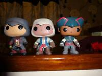 Bundle of 3 Asians creed Funko pops