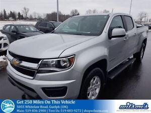 2015 Chevrolet Colorado CREW CAB! TOW PKG! BED LINER! REAR CAMER