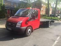 Ford transit 09 recovery truck