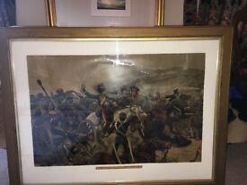 Relief of the Light Brigade Print