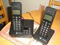 TELEPHONES. 'dual' BT + answer machine