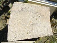 large shaped slabs to make a circle