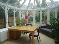 Charming 2 double bedroomed lower ground floor garden conversion. There is a fitted kitchen