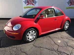 2009 Volkswagen New Beetle Coupe Trendline, Manual, Leather, Hea