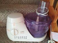 Hinari Food Processor in good working order.
