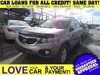 2011 Kia Sorento LX V6 * 7PASS * CAR LOANS THAT FIT YOUR BUDGET