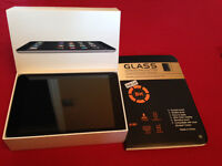 iPad Mini 32gb with Case + Glass Screen Protector Cover - Excellent Condition - BOXED