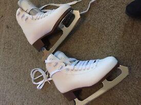 Ladies Graf Bolero figure ice skates size 6