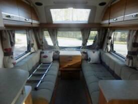 Swift Challenger Caravan SE Sports 530 2014 Motor Mover 4 Berth 2 Fixed Beds
