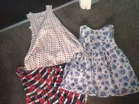 Girls summer clothes age 3-4