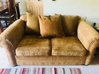 Yorkshire sofa company , two 2 seater sofas