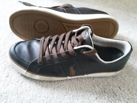 Ralph Lauren POLO mens casual shoes/trainers size UK 8