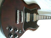Antoria electric guitar -Japan - '70s - Gibson SG homage