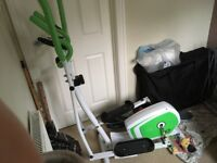 FOR SALE: Brilliant Black, White and Green Cross Trainer. Immaculate Condition. Used Twice