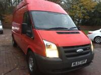 2008 57 ford transit lwb high roof no vat may px