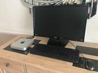 Mac mini i7 2.0ghz 2x500gb hard drive 4gb ram