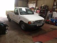 FORD RANGER TRUCK .2WD, SINGLE CAB , 2.5 N/TURBO ,8 MONTHS MOT, 1 OWNER. IDEAL EXPORT OR UK .