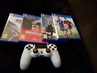 Ps 4 games plus controller 《no console》