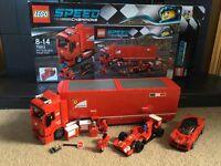 LEGO Ferrari F1 Truck (75913) & Speed Champions LaFerrari (75889)