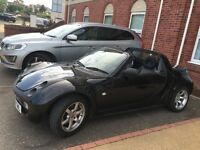 2004 Black Smart Car Roadster Convertible 51,000 miles Automatic 0.7L Petrol