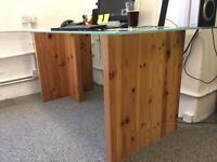 Glass Desk for Sale