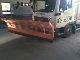 Snow plough blade for all vehicles