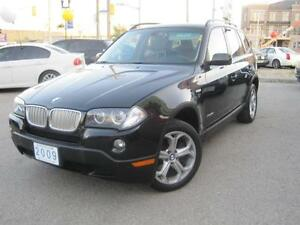 2009 BMW X3 3.0i | Leather • Panoramic Roof