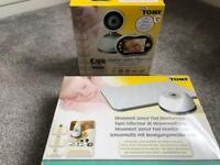 Tomy video baby monitor and breathing mat