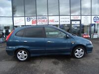 2002 52 NISSAN ALMERA 1.8 TINO HURRICANE S 5d 111 BHP *** GUARANTEED FINANCE ****