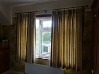 Quality fully lined Curtains - never been fitted - identical to ones in the photograph