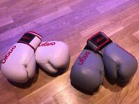12oz Boxing Gloves & Hook & Jab Pads