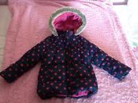 Girls coat age 4/5