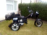 Honda CX500 Trike for project - no engine