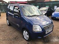 Suzuki Wagon R + GL 1298cc Petrol Automatic 5 door hatchback 03 Plate 20/03/2003 Blue