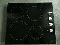 ''Belling'' ceramic hob in good working order & condition