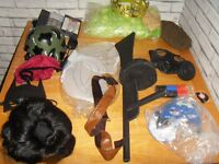 Adult Fancy dress costumes Dressing Up JOB LOT wigs over 35 outfits and more some NEW
