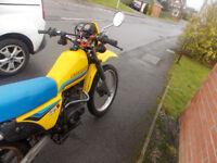 suzuki 125 cc trail bike 1984 model