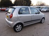 Automatic Chevrolet matiz long mot