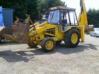JCB 3cx 4x4 Digger