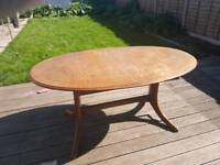 Dining table Extenble with 2 chairs